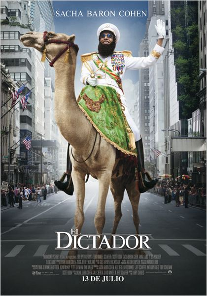El dictador : cartel