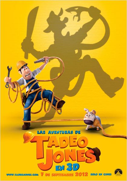 Las Aventuras de Tadeo Jones : Cartel