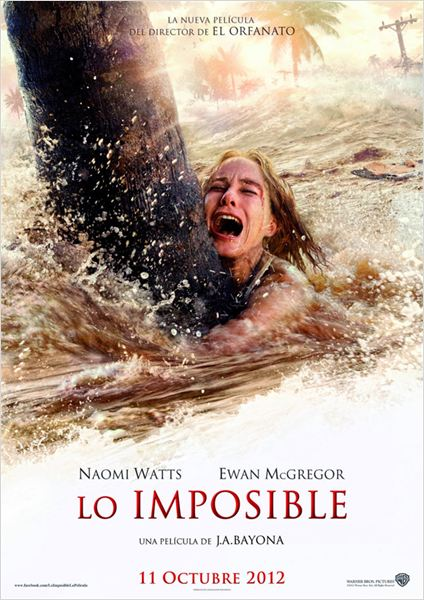 Lo Imposible : cartel