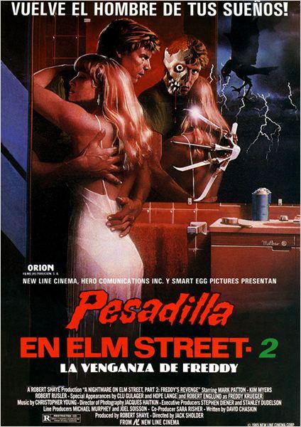 Pesadilla en Elm Street 2: La venganza de Freddy : Cartel