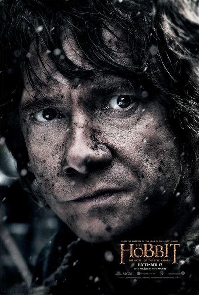 El hobbit: La batalla de los cinco ejércitos - Cartel