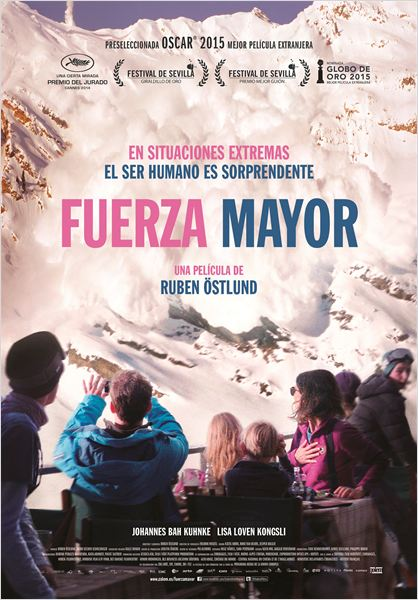 Fuerza Mayor - Cartel