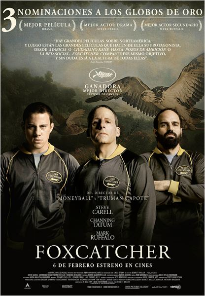 Foxcatcher - Cartel