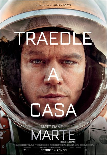 Marte (The Martian) - Cartel