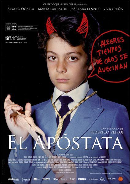 El apóstata - Cartel