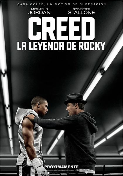 Creed. La leyenda de Rocky : Cartel