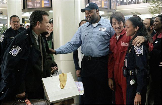 La Terminal : Foto Barry Shabaka Henley, Chi McBride, Diego Luna, Tom Hanks, Zoe Saldana