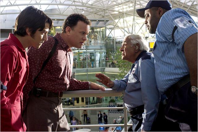 La Terminal : Foto Chi McBride, Diego Luna, Kumar Pallana, Tom Hanks