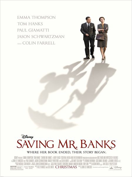 Al encuentro de Mr. Banks (Saving Mr. Banks) : Cartel