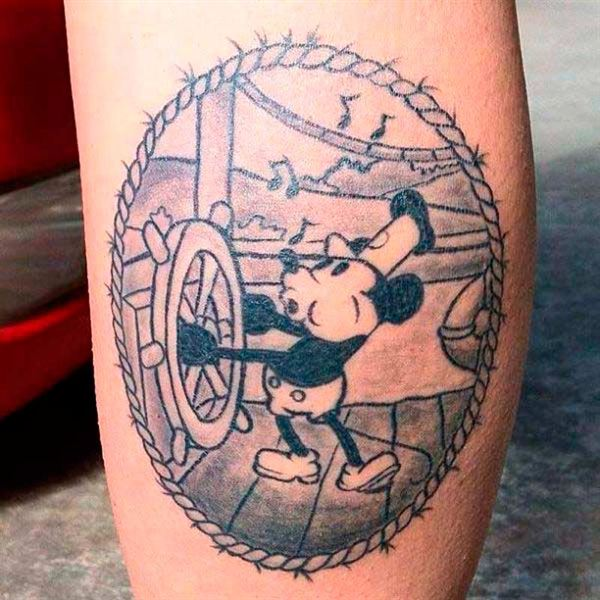 El antiguo Mickey Mouse
