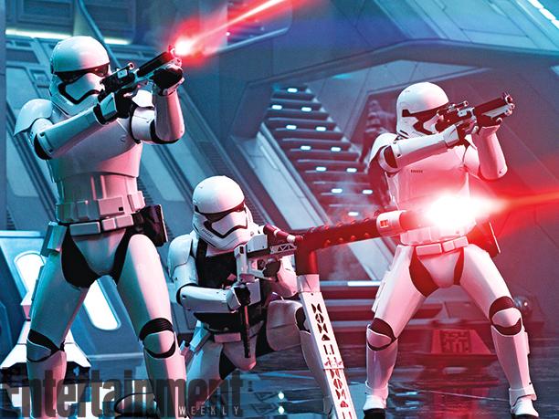 Dibujos Para Colorear Star Wars El Despertar De La Fuerza: Stormtroopers Luchando Para La Primera Orden