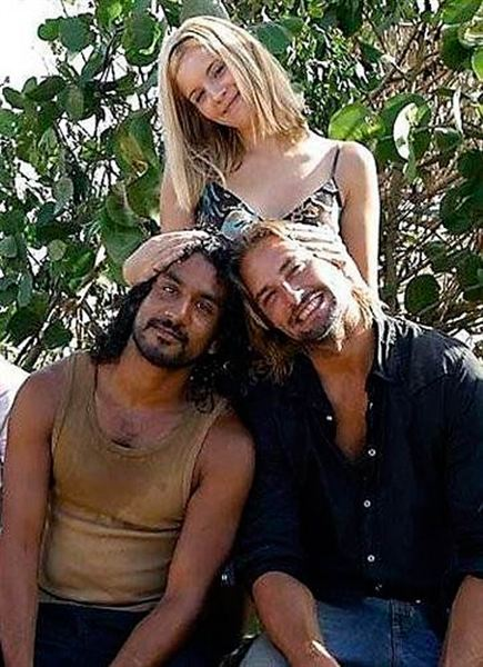 Naveen Andrews, Josh Holloway y Maggie Grace - 'Perdidos ...