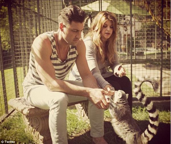Resultado de imagen de Kirstie Alley y sus lemures