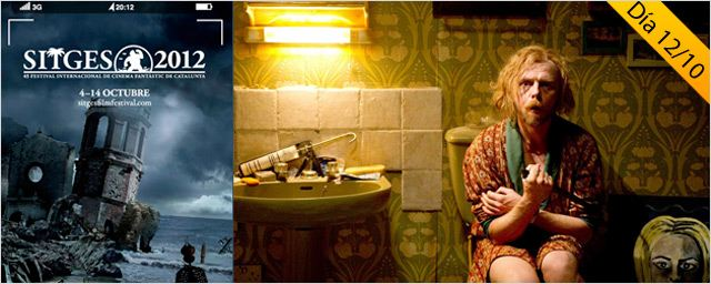 Tremendo one-man-show de Simon Pegg en 'A Fantastic Fear of Everything'