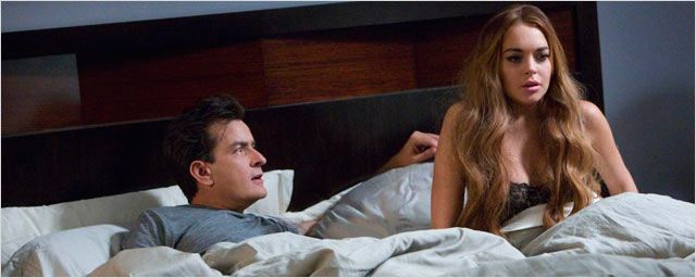 Lindsay Lohan seduce a Charlie Sheen en &#39;Anger Management&#39;