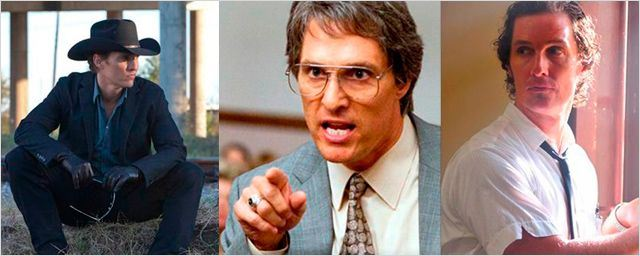 7 nuevas caras de Matthew McConaughey