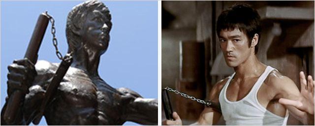 Bruce Lee ya tiene estatua en Chinatown