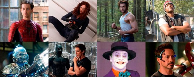 Los actores mejor pagados por hacer de superhéroes