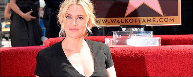 Kate Winslet ya tiene su estrella en el Paseo de la Fama de Hollywood