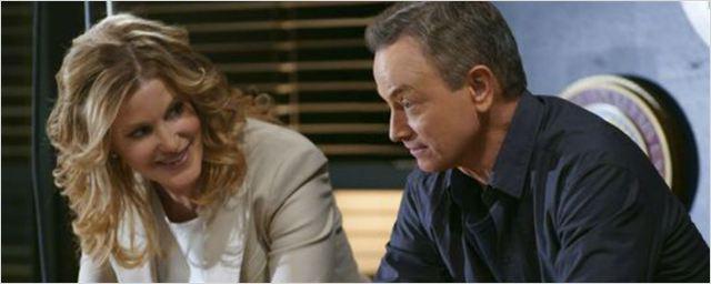Primeras imágenes de Anna Gunn y Gary Sinise en 'Mentes Criminales'