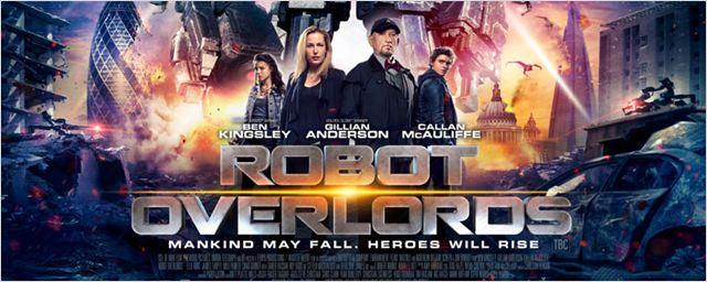 La película 'Robot Overlords' con Gillian Anderson tendrá una serie 'spin-off'