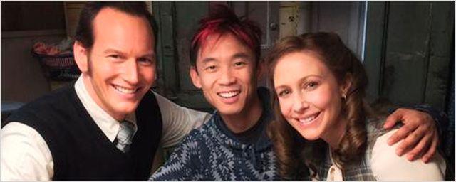 'The Conjuring 2': James Wan y los Warren se reúnen de nuevo en la primera imagen del set de rodaje