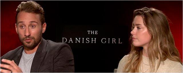 'La chica danesa': Entrevista EXCLUSIVA en vídeo con Matthias Schoenaerts y Amber Heard