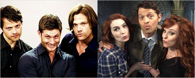 'Sobrenatural': imágenes detrás de las cámaras de la serie