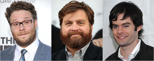 Seth Rogen, Zah Galifianakis y Bill Hader protagonizarán una comedia ambientada en el espacio