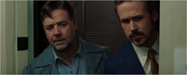 'Dos buenos tipos': Nuevo tráiler de la comedia protagonizada por Ryan Gosling y Russell Crowe