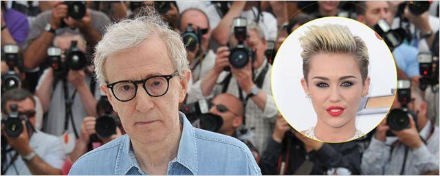 Woody Allen escogió a Miley Cyrus para su serie después de verla en 'Hannah Montana'