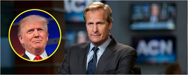 Jeff Daniels ('The Newsrooom') vuelve a ser Will McAvoy para criticar a Donald Trump