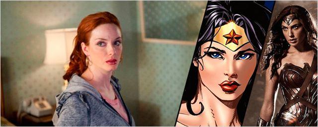 'Wonder Woman': Nicolas Winding Refn cree que Christina Hendricks hubiera sido fantástica para el papel