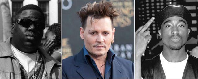 Johnny Depp podría protagonizar 'Labyrinth', la historia del detective que investigó los asesinatos de Tupac Shakur y Notorius B.I.G