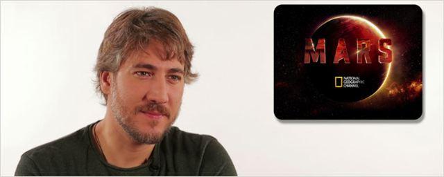 "Entrevista a Alberto Ammann, de 'Marte': ""Me gustaría hacer turismo lunar"""