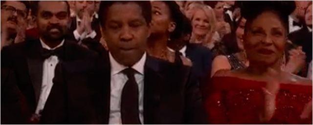 Oscar 2017: Mira la cara de Denzel Washington después de que Casey Affleck le arrebatara el Premio