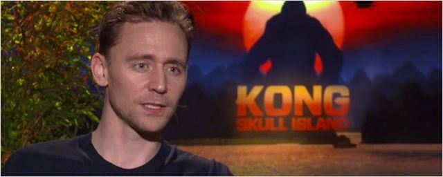 """Tom Hiddleston ('Kong: La Isla Calavera'): """"Kong se ha convertido en un emblema que representa el poder de la naturaleza"""""""