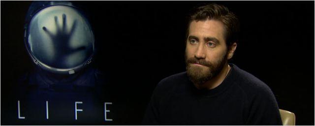 """Jake Gyllenhaal ('Life (Vida)'): """"Hay momentos en los que desearía enviar a Ryan Reynolds y Rebecca Ferguson al espacio"""""""