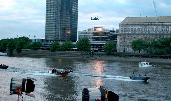 En Londres se rodó James Bond Spectre